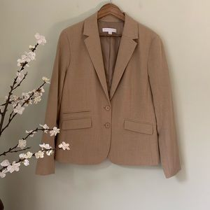 New York & Company Jackets & Coats - New York and Company Beige Blazer NWOT Size 18